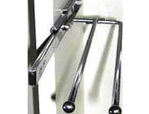 Stainless Steel Towel Rail Minimum internal clearance of 120mm required.