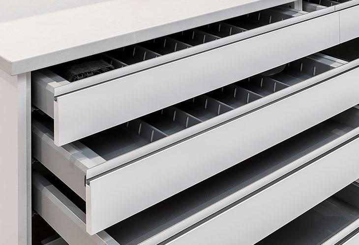 Kinsman Kitchens Butler's Pantry Storage Solutions