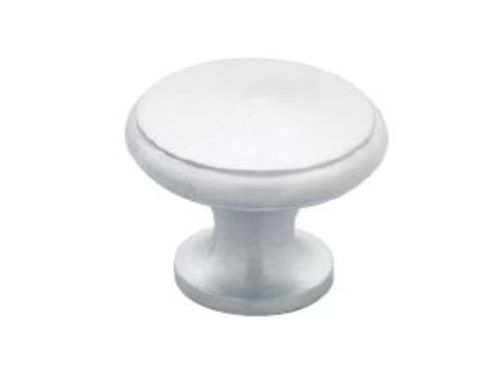 Satin Chrome Dimple Knob