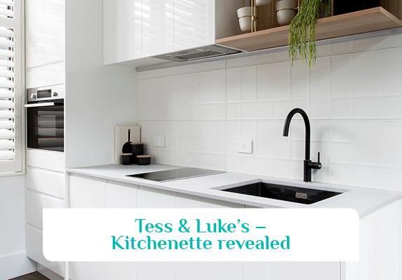The Block House 2 - Tess & Luke Kitchenette