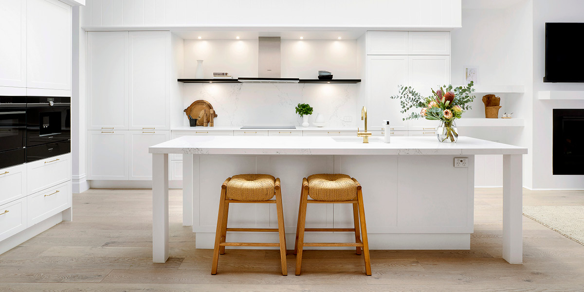 Classic White Kitchen Design