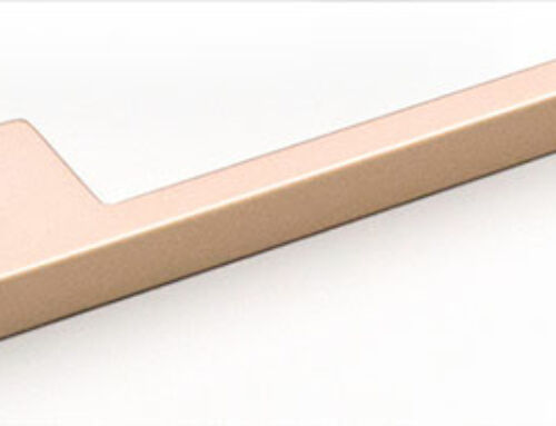 Thin Flat D Champagne 160mm