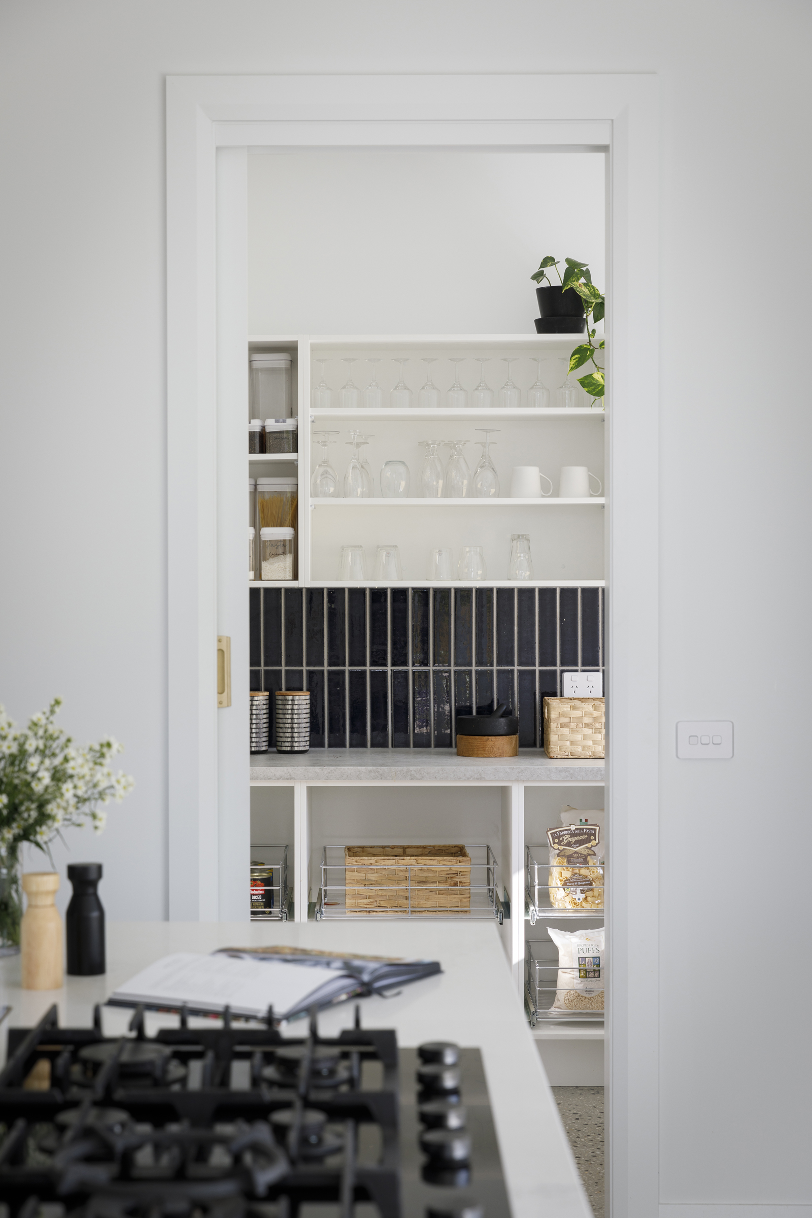 Modern Country Pantry