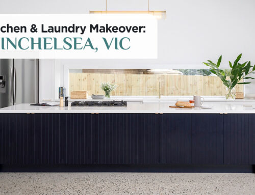 Kitchen & Laundry Makeover: Winchelsea, VIC