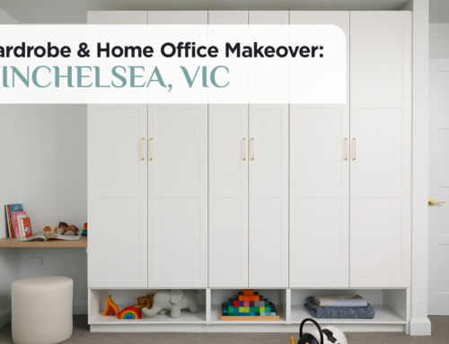 Wardrobe & Home Office Makeover: Winchelsea, VIC