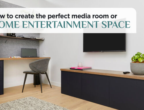 How To Create The Perfect Media Room or Home Entertainment Space
