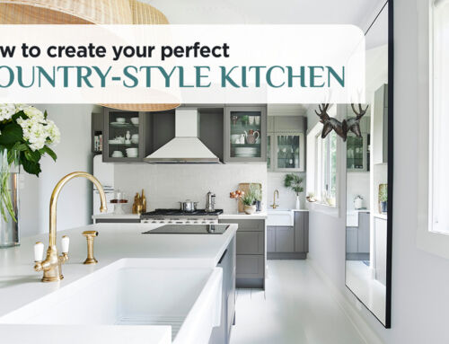 How To Create Your Perfect Country-style Kitchen