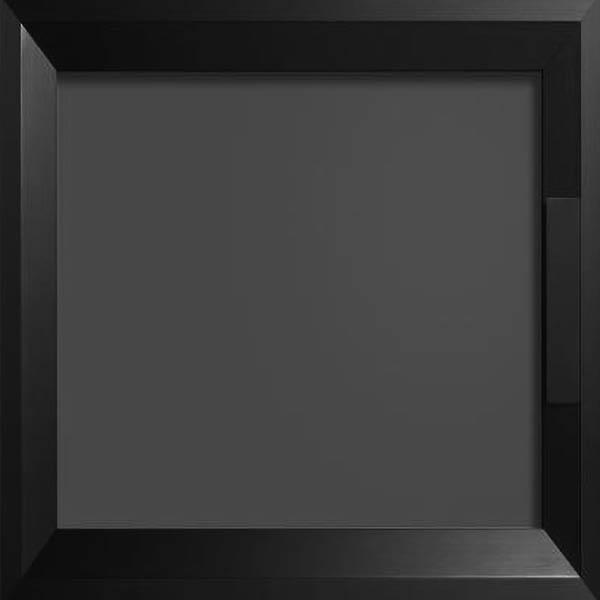 Black Alumin Frame With Acrylic Inserts