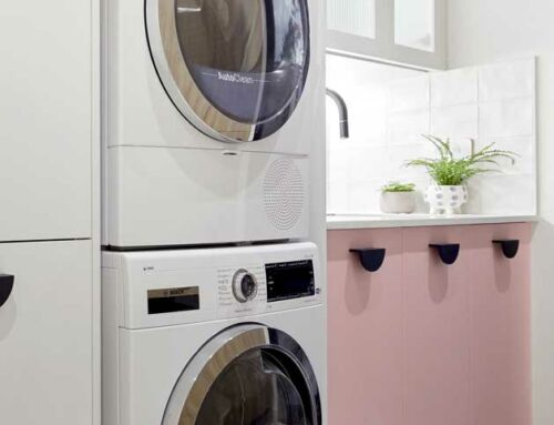 The Block 2021 – Modern Eclectic Laundry